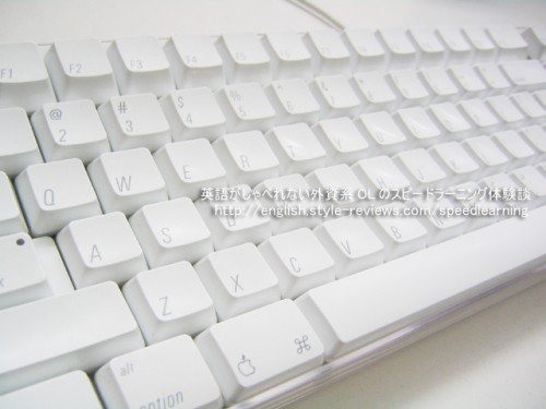 英語仕様のキーボード